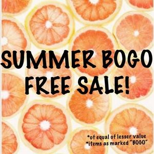BOGO Free Sale - limited time only!